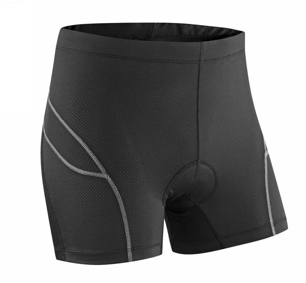 Mens Cycling Shorts Sports Padded Mountain Bike Riding Compression Tights
