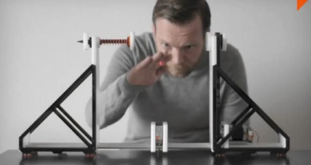 Dennis Paul's Sound Instrument Will Translates the Sound of Objects (Video)