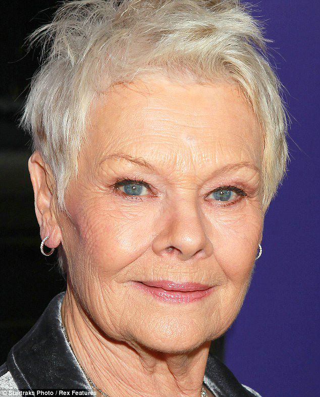 hairstylesforwomenover60 Judy dench hair, Deep set