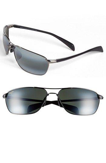 5fb152485b830 Men s Maui Jim  Kahului Harbor  68mm Sunglasses - Gunmetal
