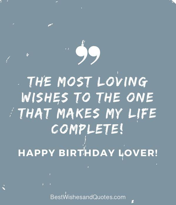 Happy Birthday Lover Happy Birthday Boyfriend Quotes Happy