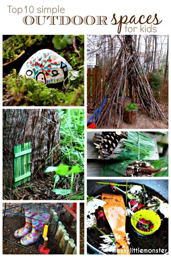 Outdoor Space Ideas Outdoor fun for kids, Backyard play