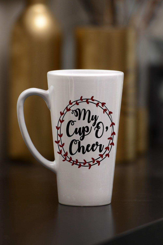 Funny mug cup of cheer mug friend gift latte mug
