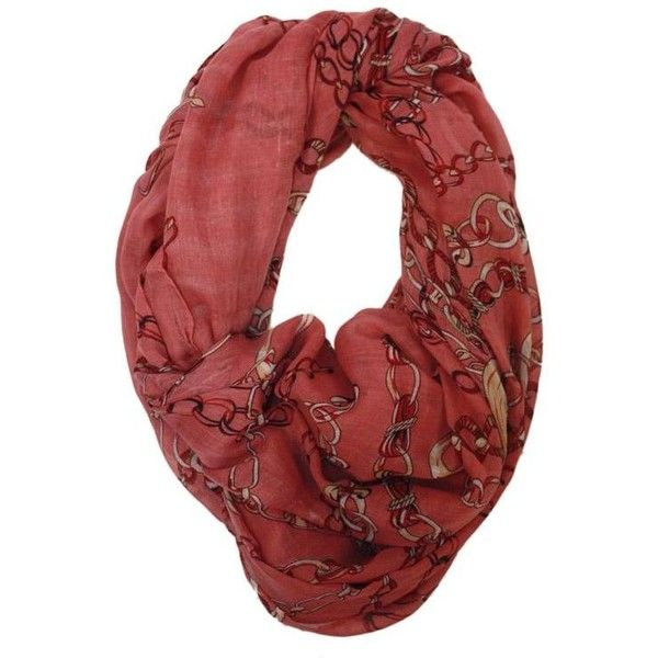 M-Butterfly Chain Print Scarf