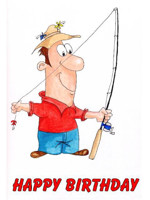 Fishing Birthday