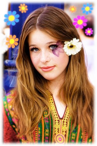 Trends that need to come back #1 | Hippie makeup, 70s hippie and ...