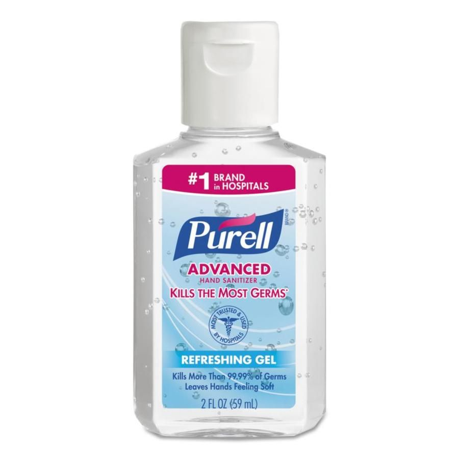 Purell 24 Count Fragrance Free Hand Sanitizer Gel 9605 24 In 2020