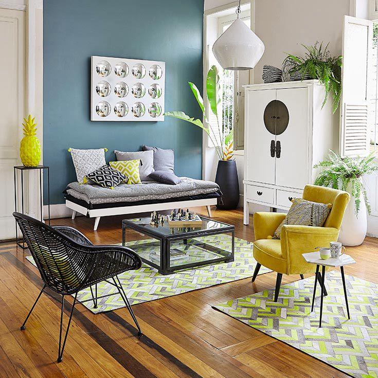 Muebles y decoraci n de interiores ex tico maisons du - Mesas auxiliares maison du monde ...