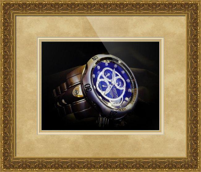 "Invicta Reserve Venom A07 Valgranges watch framed print in Classical Baroque configuration. Price starts at $173 (Petite 22.5"" x 24.5"").  http://www.imagekind.com/Invicta-Reserve-Venom-A-Valgranges_art?IMID=8ed56220-59ca-4b32-840a-a4647e80fd08"