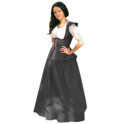 d0f0741ff2c Cotton Velveteen Bodice - SS-CBOD by Medieval Collectibles