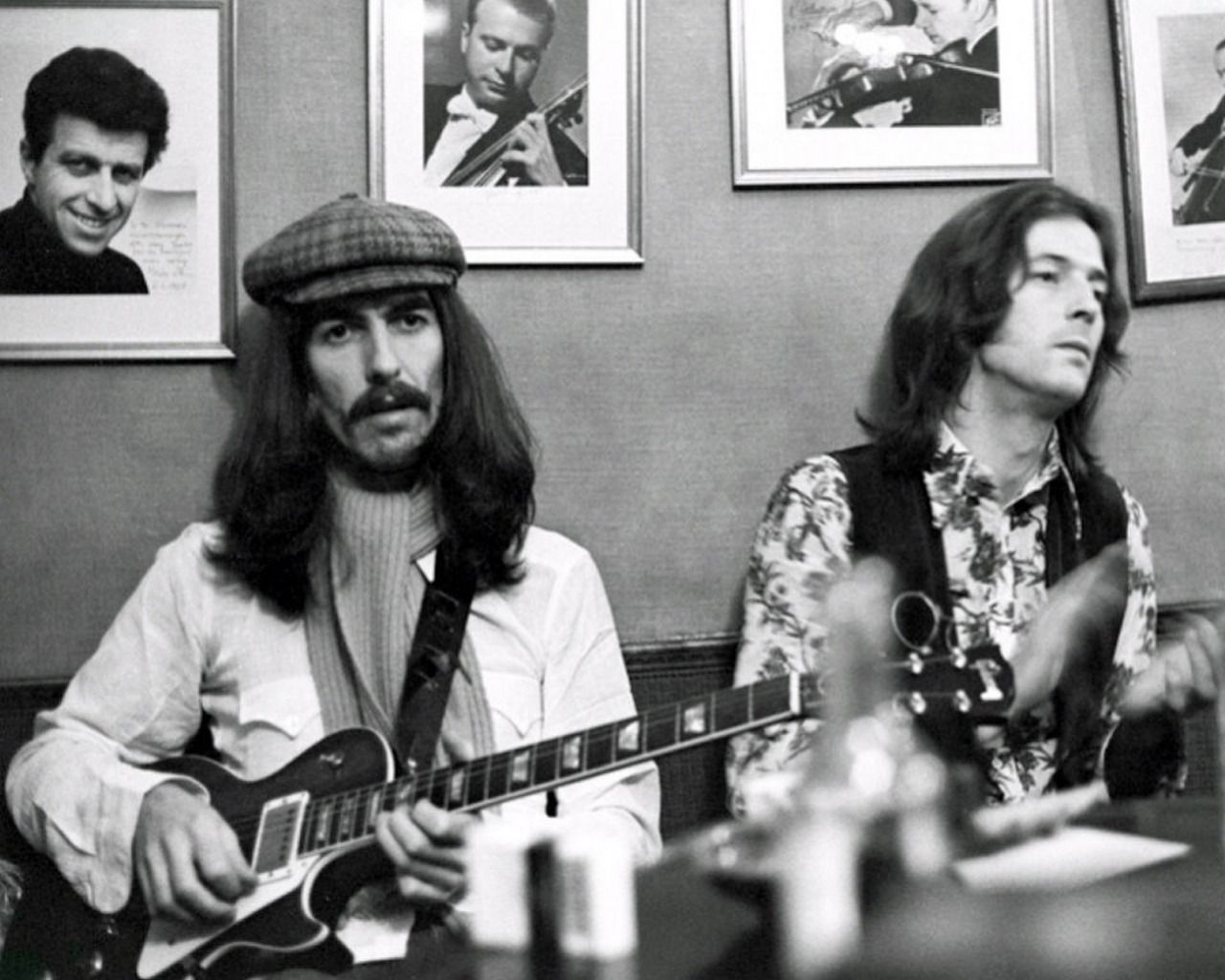 George Harrison & Eric Clapton, 1969 | ジョージハリスン ...