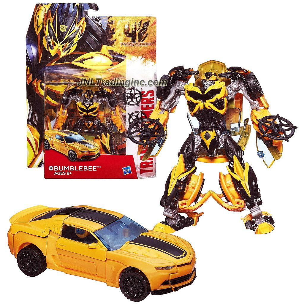 transformers movie age of extinction series deluxe class 5 1 2 tall figure bumblebee with. Black Bedroom Furniture Sets. Home Design Ideas