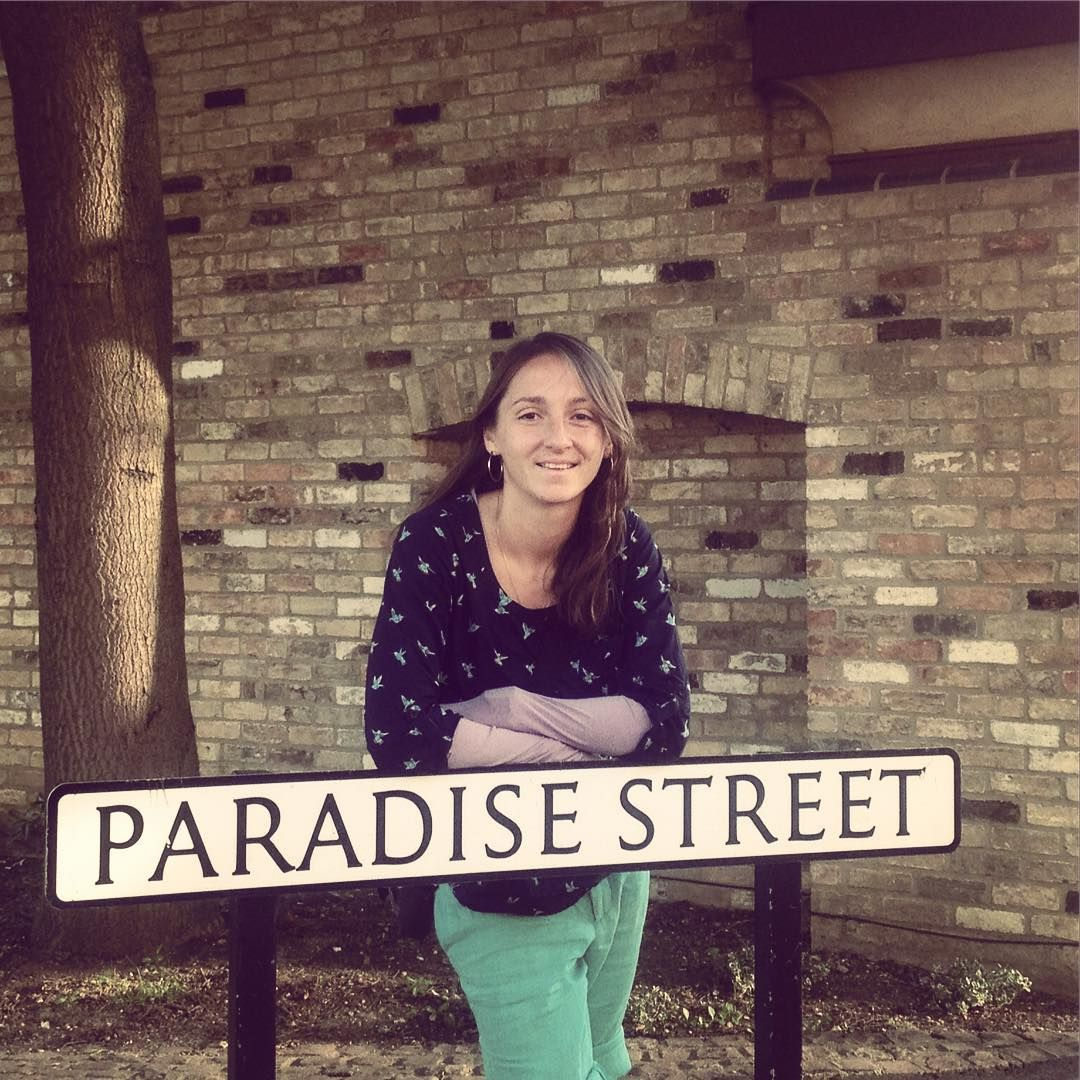 Leaning on Paradise Street.. #travel #cambridge #2015 #awesome #trip