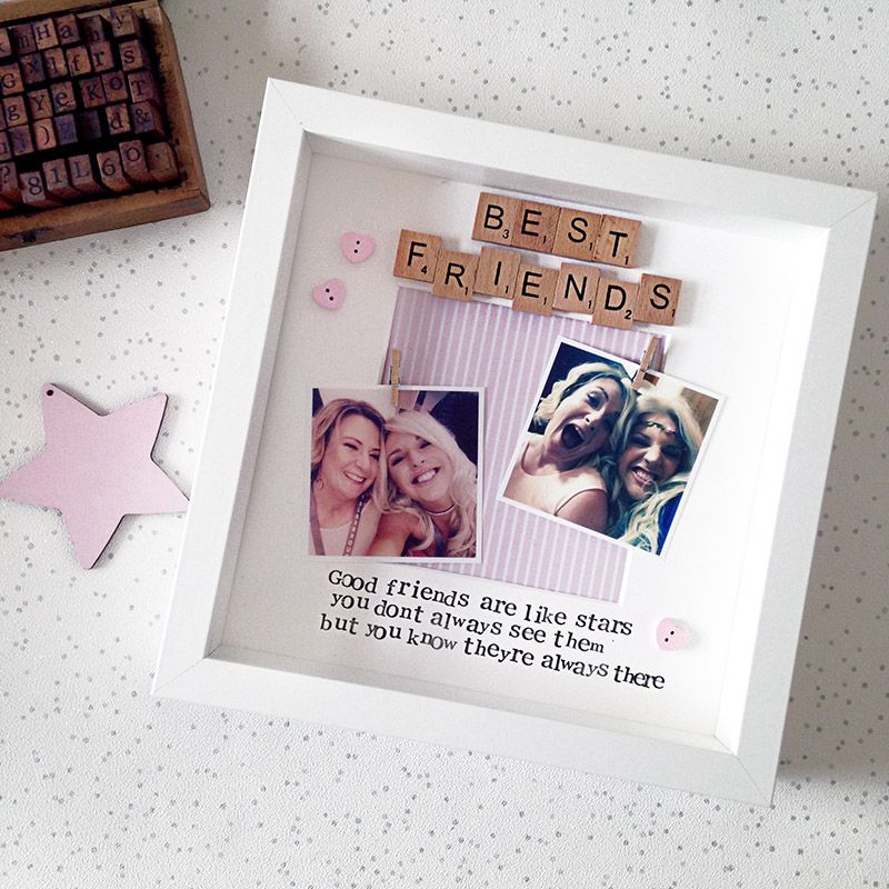 Best friends are like stars photo frame | Gifts ideas | Pinterest ...