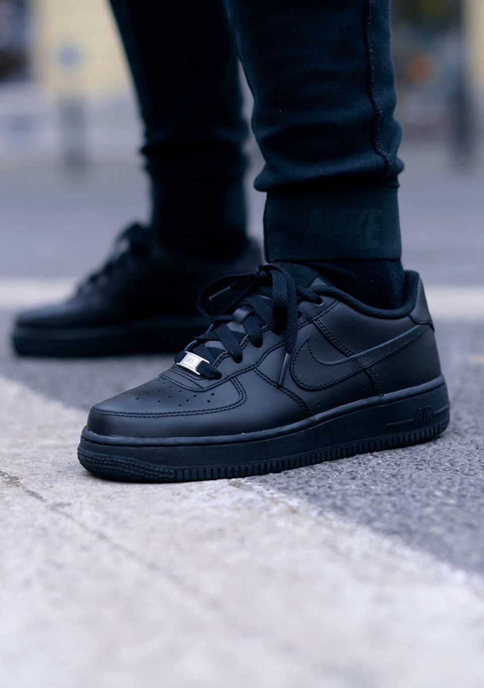 air force 1 mujer negras
