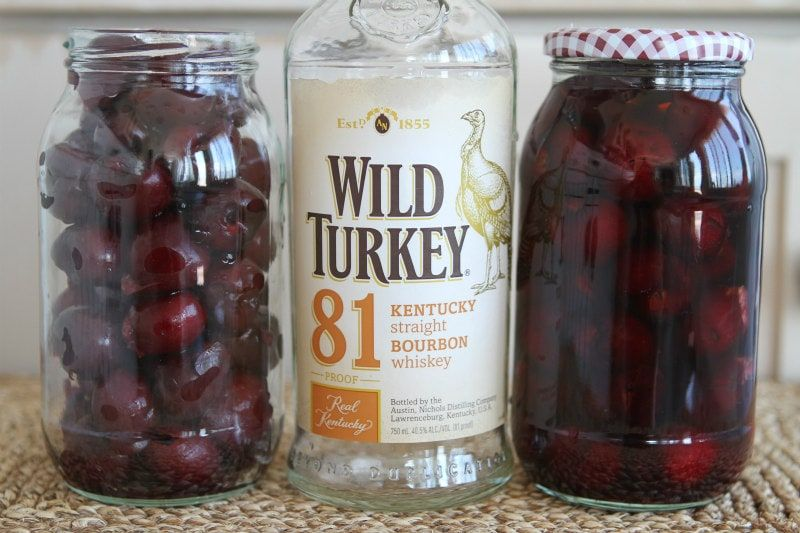 Boozy Bourbon Cherries Boozy Bourbon Cherries recipe from