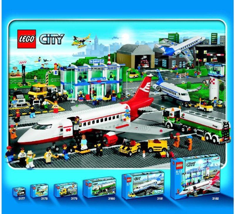 City Passenger Plane Lego 3181 Niyams Lego City Pinterest