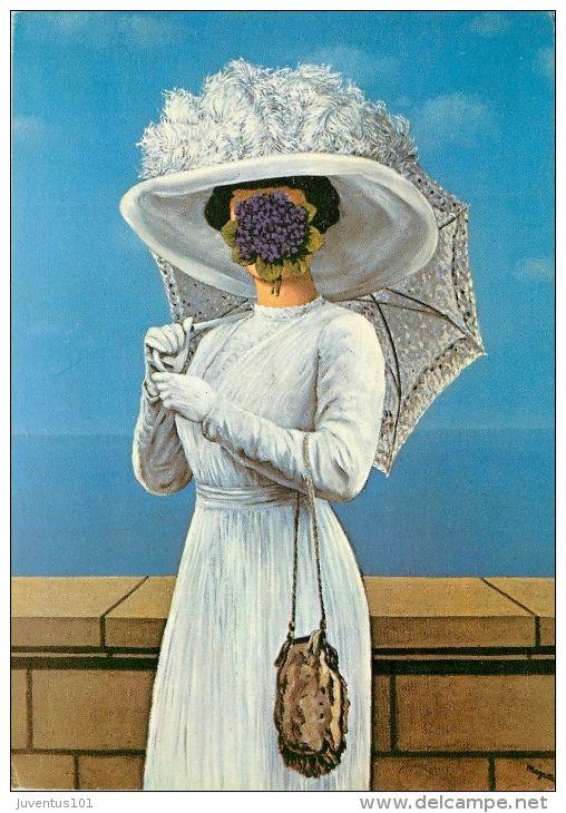 Cpsm Illustration De Magritte La Grande Guerre L1986 Magritte Surrealismo Arte