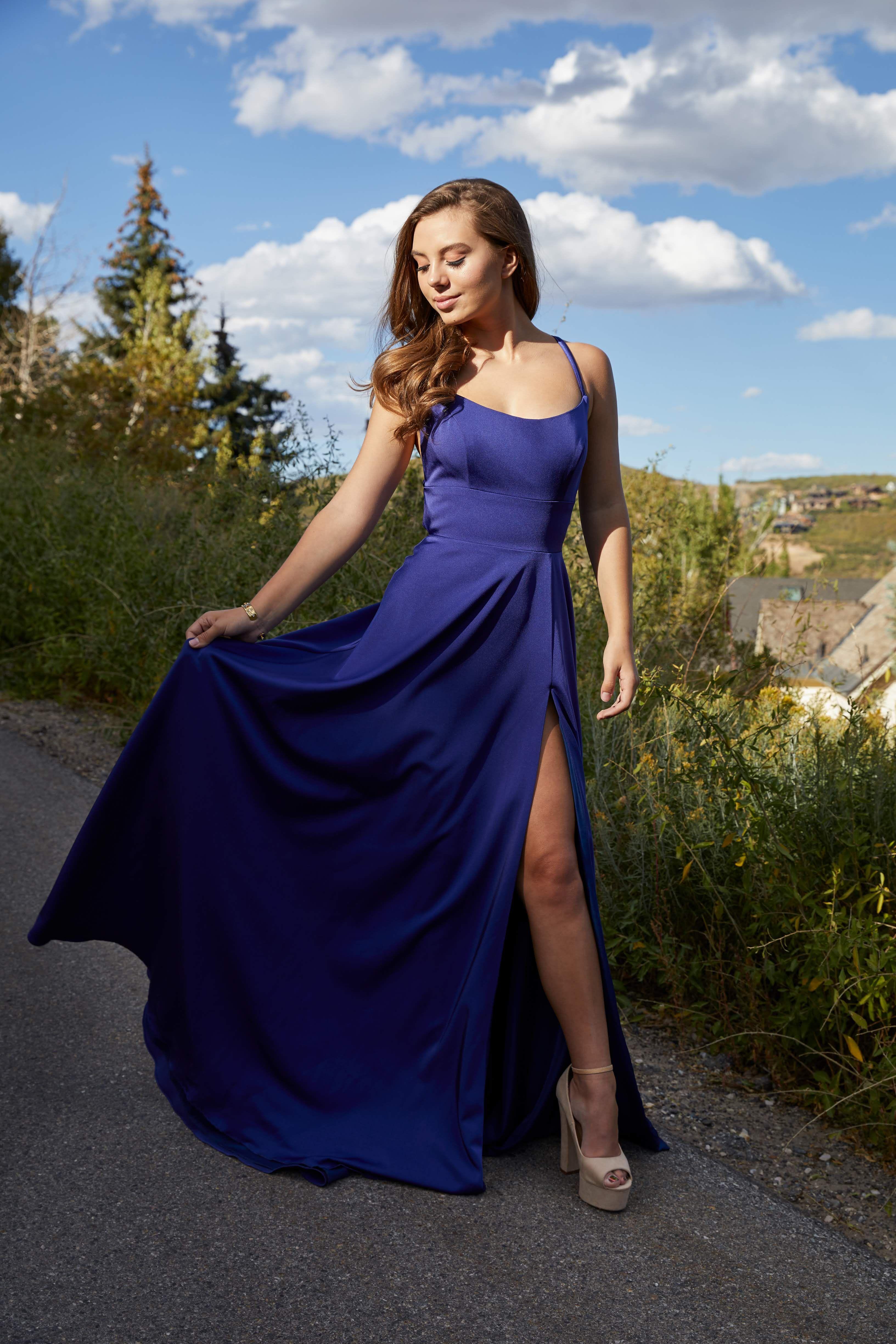 Long Straight Neck Sleeveless Prom Dress By Flair Prom Dresses Sleeveless Dresses Designer Formal Dresses [ 4898 x 3265 Pixel ]
