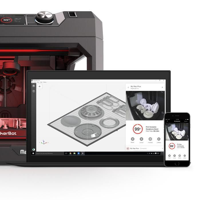 Makerbot 3D Printing Software And Equipment