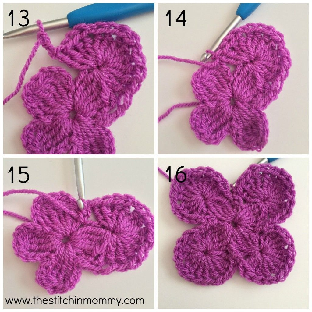 Bavarian Square Tutorial   Crochet stitches, Squares and Tutorials