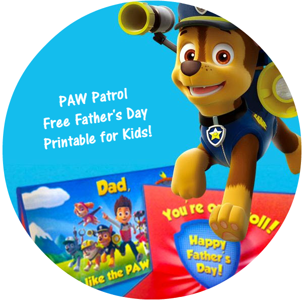 Paw Patrol Father S Day Pop Up Card Free Printable For Kids Woof Woof Mama Father S Day Printable Kids Craft Gifts Fathers Day