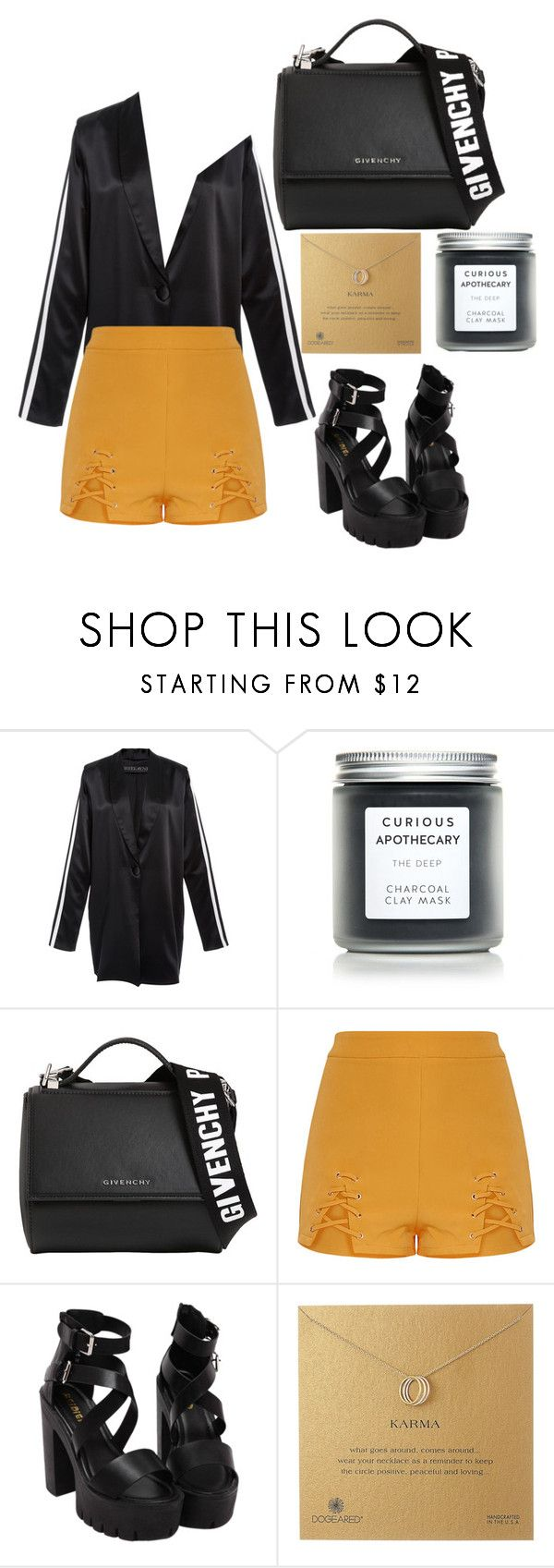 """Untitled #303"" by leilabas ❤ liked on Polyvore featuring SkinCare, Givenchy and Dogeared"