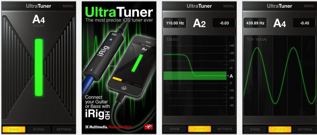 Best Tuner For iPhone UltraTuner Music app, Iphone, App
