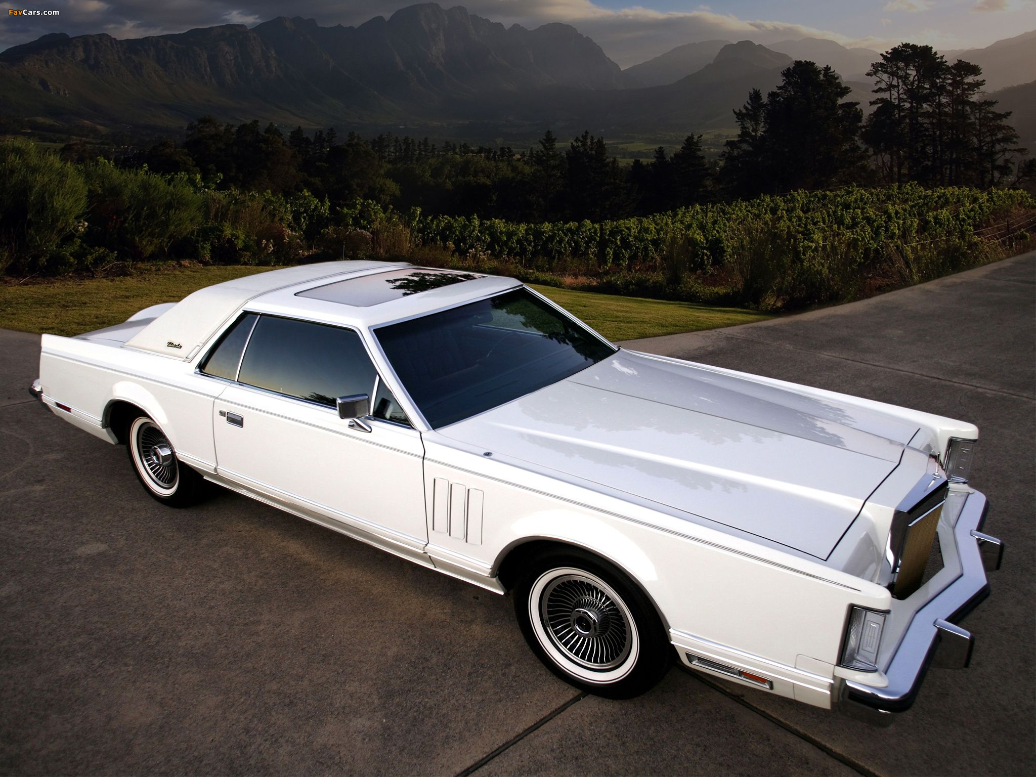 the lincoln continental mark v series was built from 1977 to 1979 derived from the
