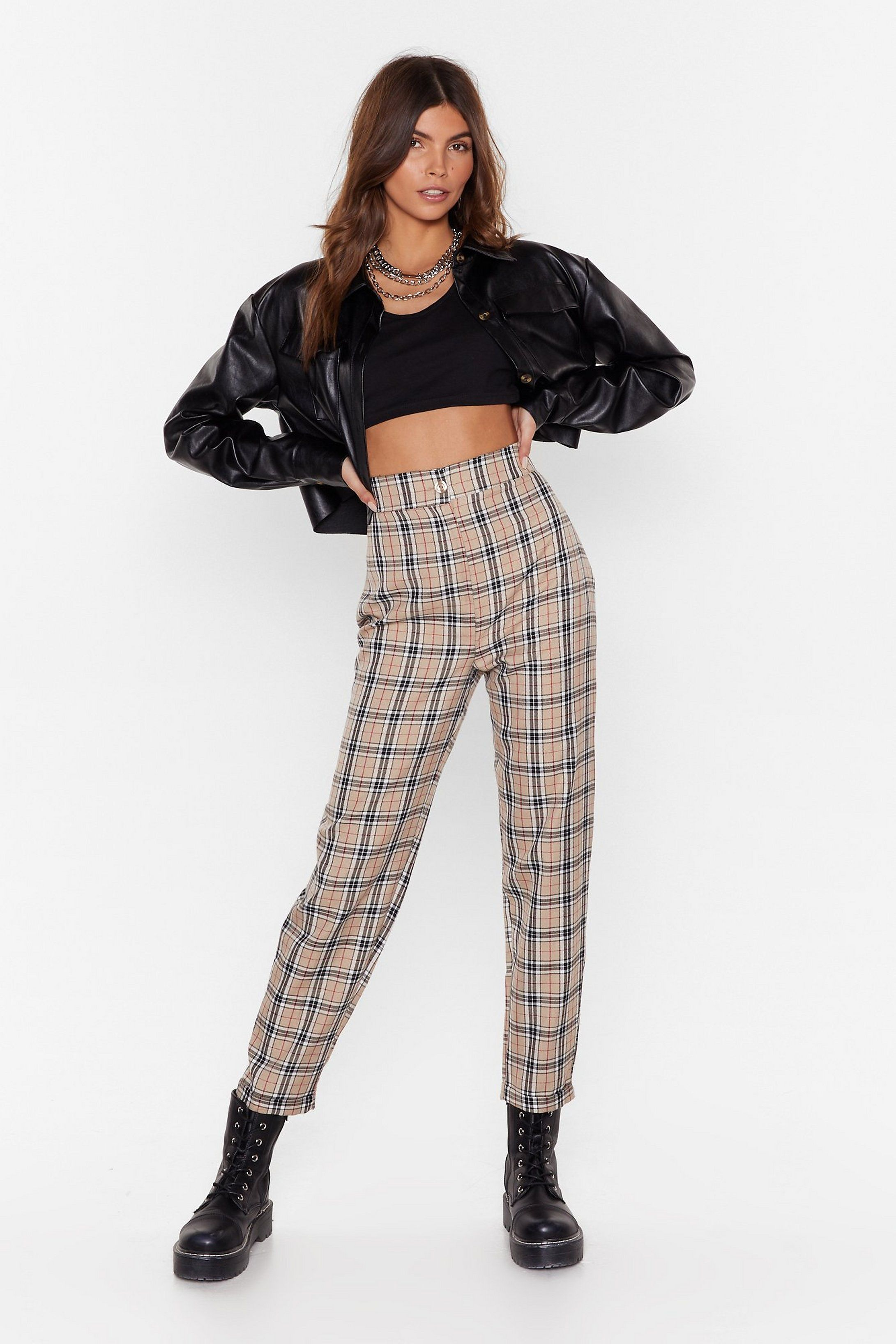 Let's Take a Rain Check Tapered Pants | Nasty Gal