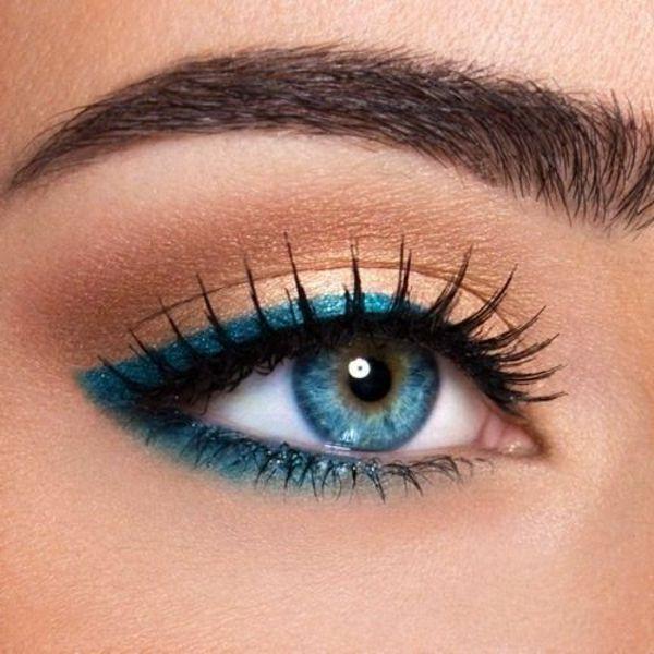 Dezentes Augen Make Up   Schöne Tipps Und Tricks Mehr