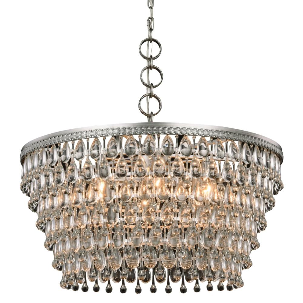 Elegant Lighting 1219d28 Elegant Lighting Crystal Chandelier