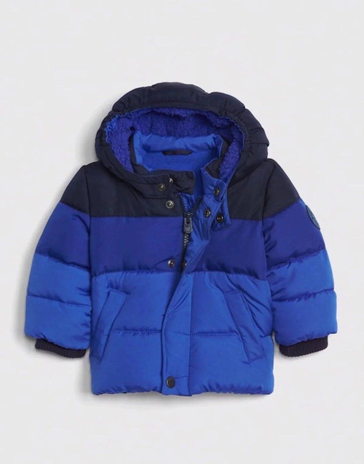 Babygap Colorblock Zip Puffer Jacket In 2021 Baby Boy Coats Jackets Baby Boy Jackets Baby Boy Coat [ 1529 x 1200 Pixel ]