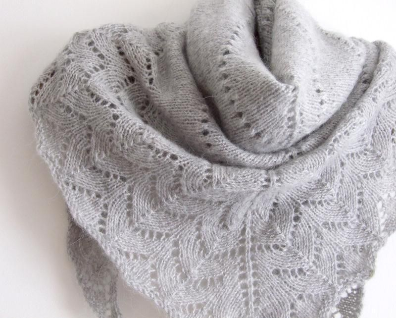 Free Pattern: Simplicity Triangle Shawl | Sewing-Scarves | Pinterest ...
