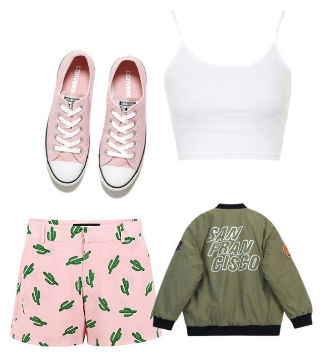 """""""Untitled #127"""" by mollyd284 on Polyvore featuring Topshop, American Retro, Converse, Chicnova Fashion, women's clothing, women, female, woman, misses and juniors"""