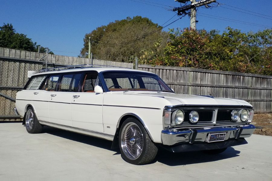 Australia's Rarest Car the 6-Door Ford Falcon Goes Under ...