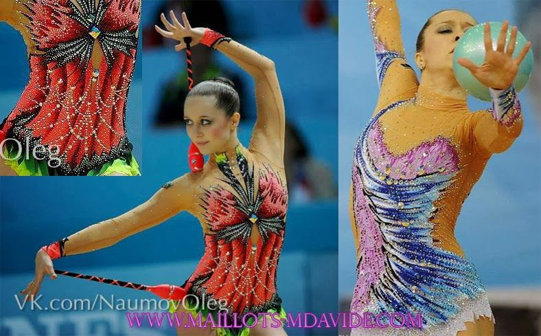 Rhythmic gymnastics leotards: GYMNASTIC LEOTARDS MADE BUY M.DAVIDE