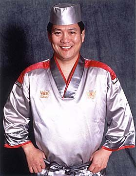 Masaharu morimoto is a japanese chef best known as an for Allez cuisine iron chef