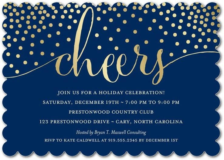 FIRST SNOW – Party Invitations Cards