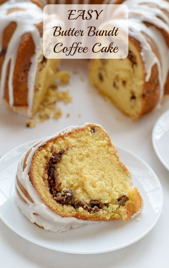 Easy Butter Bundt Coffee Cake Yellow Cake Mix And Vanilla