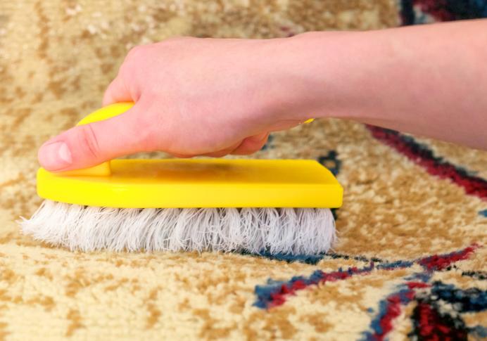 comment nettoyer un tapis tache tout