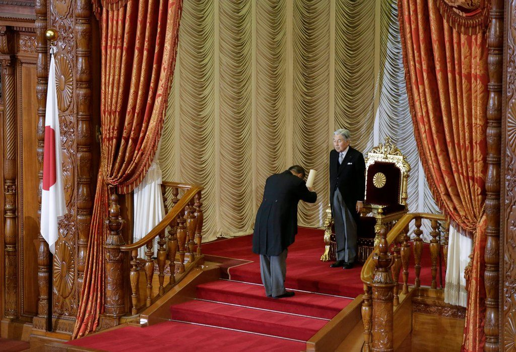 Since his reign began in 1989, Emperor Akihito has often embodied Japan's…