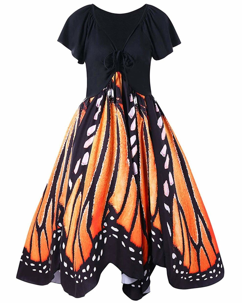 35 Pieces Of Clothing That Are As Loud As You Are Butterfly Print Dress Plus Size Dresses Plus Size Outfits [ 1238 x 990 Pixel ]