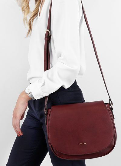 Angela Roi Morning Cross Body Bordeaux