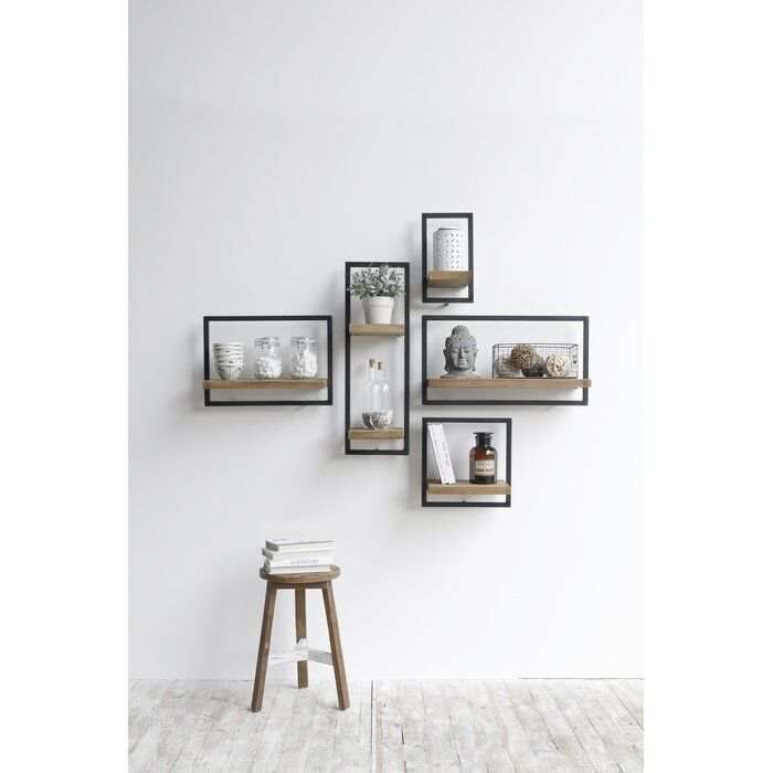 Langridge Metal Frame Accent Shelf