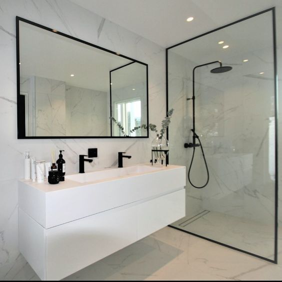 Photo of After investing all your time and $$ into a new bathroom, don't forget to finish …