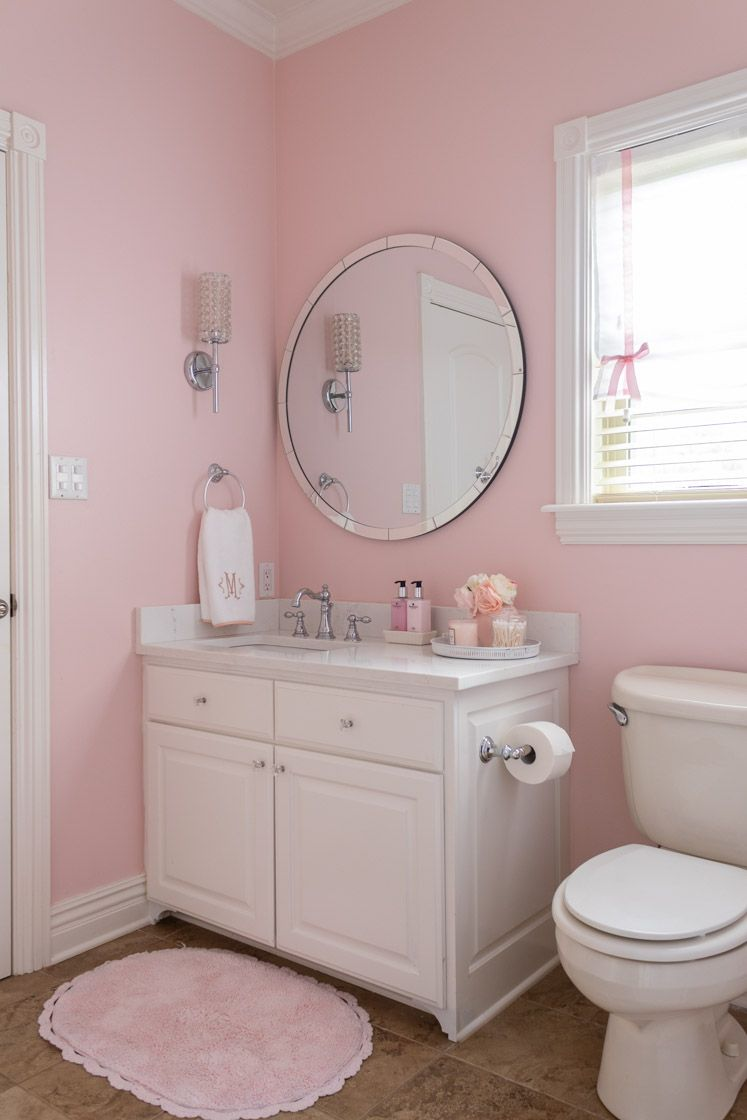 Photo of Pink Girls Bathroom | Home Design & Lifestyle | Jennifer Maune