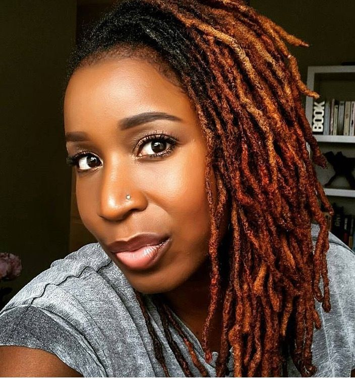 Loving The Hair Color Locs Hairstyles Hair Styles Natural Hair Styles