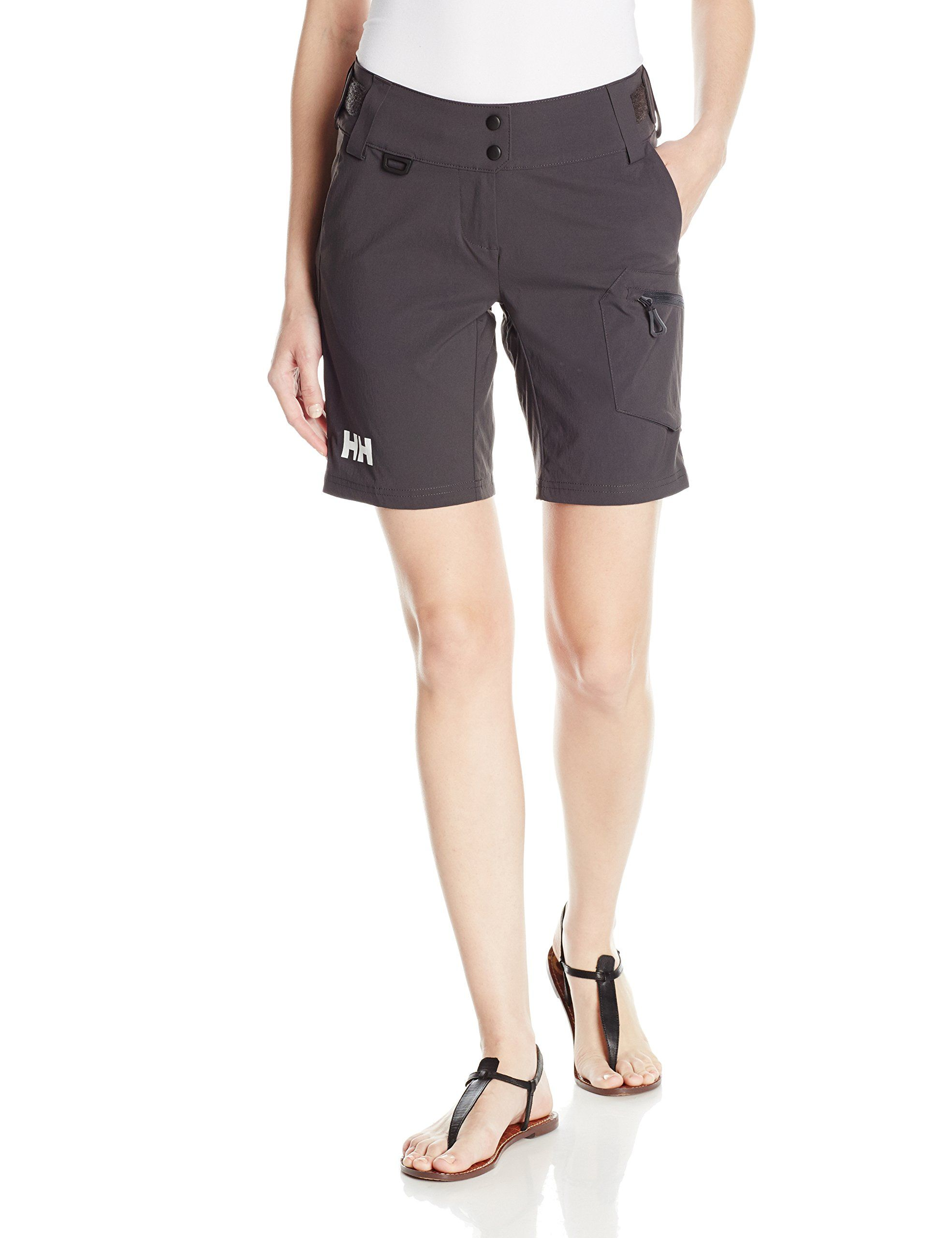 845c0f2cda2 Helly Hansen Womens Crew Dynamic Shorts Ebony Size 32 >>> Check out the  image by visiting the link. (This is an affiliate link) #WomensActivewear
