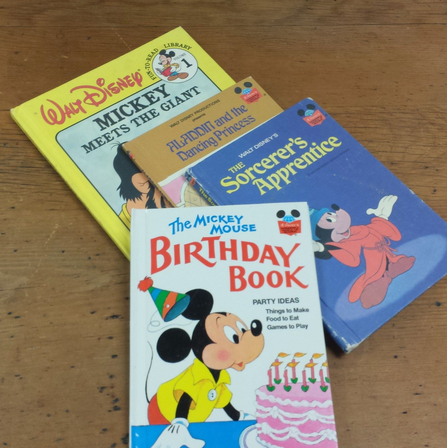 Mickey Mouse Birthday Book Party Ideas ...